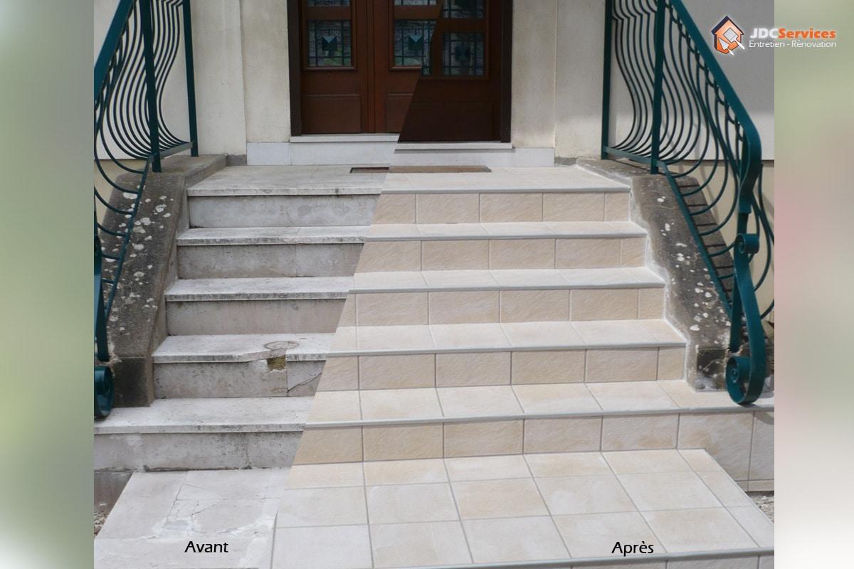 Peindre Un Escalier Carrelé jdc-services: carreleur dijon et sa région   faïence
